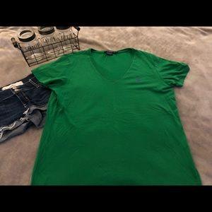 Green Ralph Lauren tee